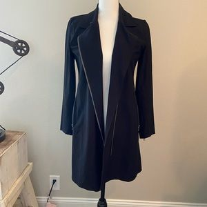Eileen Fisher Washable Stretch Crepe Moro Jacket